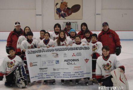 Bonne saison pour l'équipe Auetissatsh de Mashteuiatsh