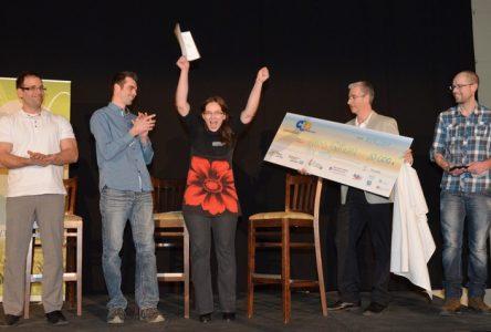 Nathalie Paré remporte la bourse de 10 000 $