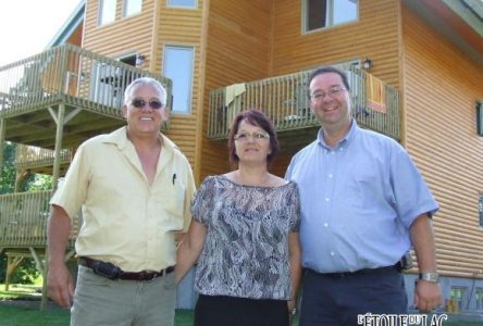 Chalets et spa Lac Saint-Jean : la vision de Denis St-Pierre prend forme à Chambord