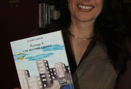 Claudie Laroche lance son deuxième roman