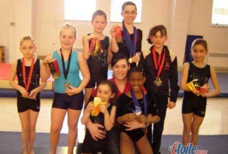 Compétition de gymnastique à Roberval