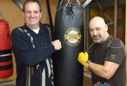 Des cours personnalisés au Club de boxe de Saint-Félicien