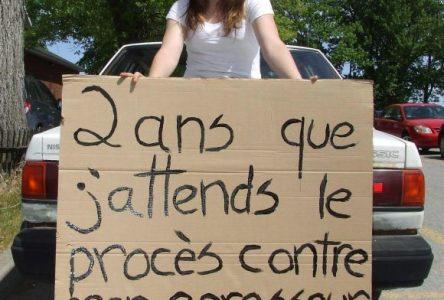Élyse Thibeault déplore la lenteur du système judiciaire