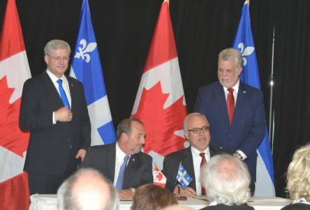 Entente administrative de 7,5 G$ pour les infrastructures municipales au Québec