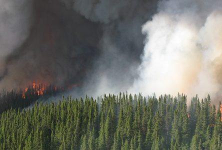 Présence de fumée sur le Saguenay-Lac-Saint-Jean