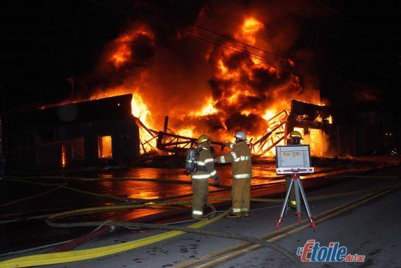 Formule JRE Saint-Félicien détruit par un incendie