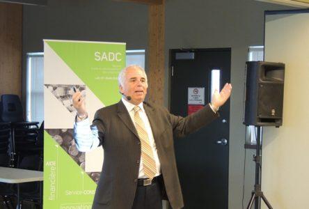 Jean David fait la promotion de l'innovation et de la créativité