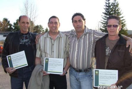 La Sûreté du Québec honore trois héros