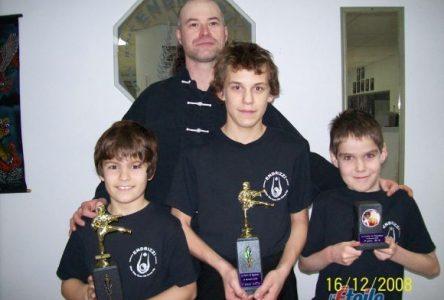 le Club de Kung-Fu de Saint-Félicien se démarque