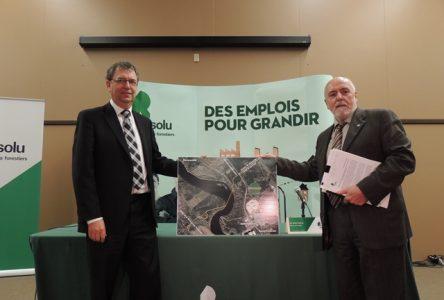 Résolu et la Ville de Saint-Félicien s'entendent pour créer un Écoparc