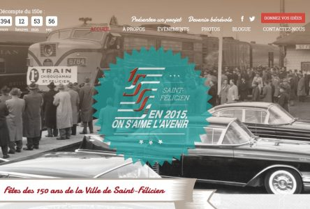 Les Fêtes du 150e de Saint-Félicien ont leur site web