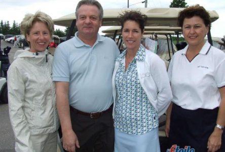 Les golfeurs foulent les allées pour la FHDR