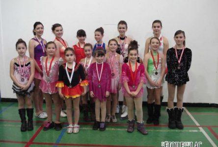 Les médailles pleuvent pour la Club de patinage artistique Aéroglisse
