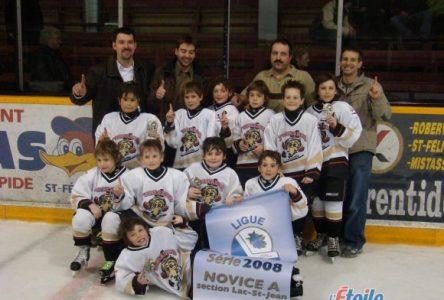 Les Tornades Novice A de Saint-Félicien sont champions