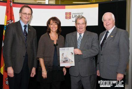 L'Université Laval reconnaît l'apport de Bertrand Fradet