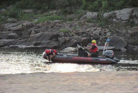 Le corps de l'adolescent porté disparu repêché sur la rivière Mistassini