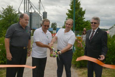 Saint-Prime inaugure son parc urbain L'Horloge du Temps
