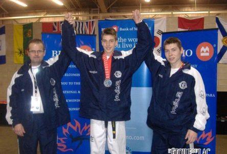 Pascal Brassard est champion canadien de taekwondo