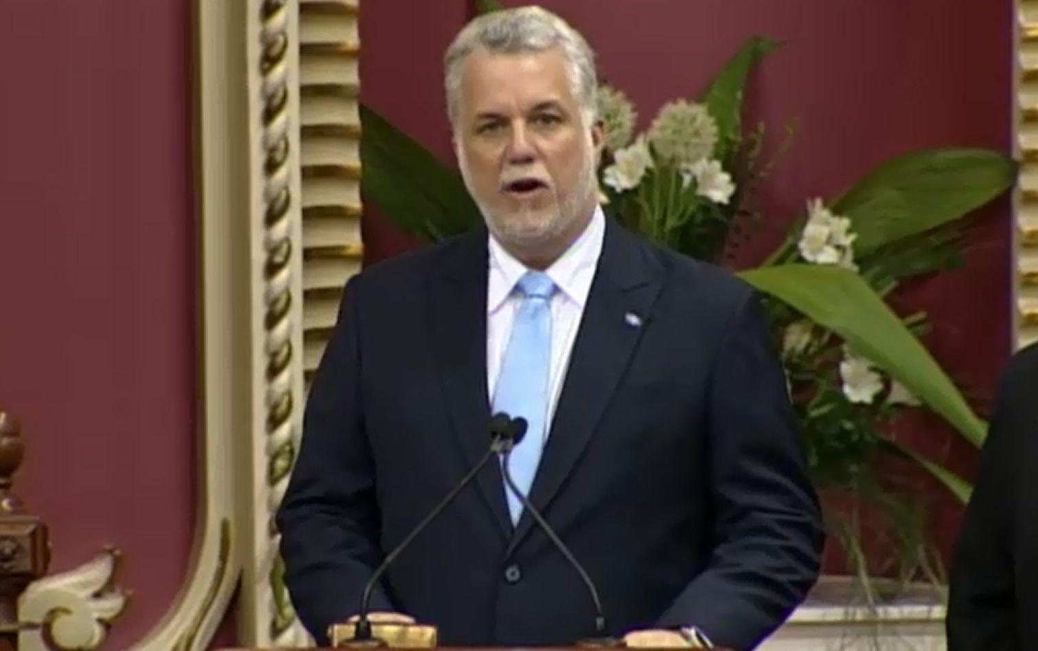 Philippe Couillard est assermenté Premier ministre du Québec