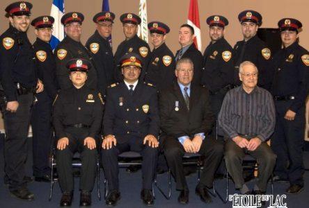 Policiers honorés à Mashteuiatsh