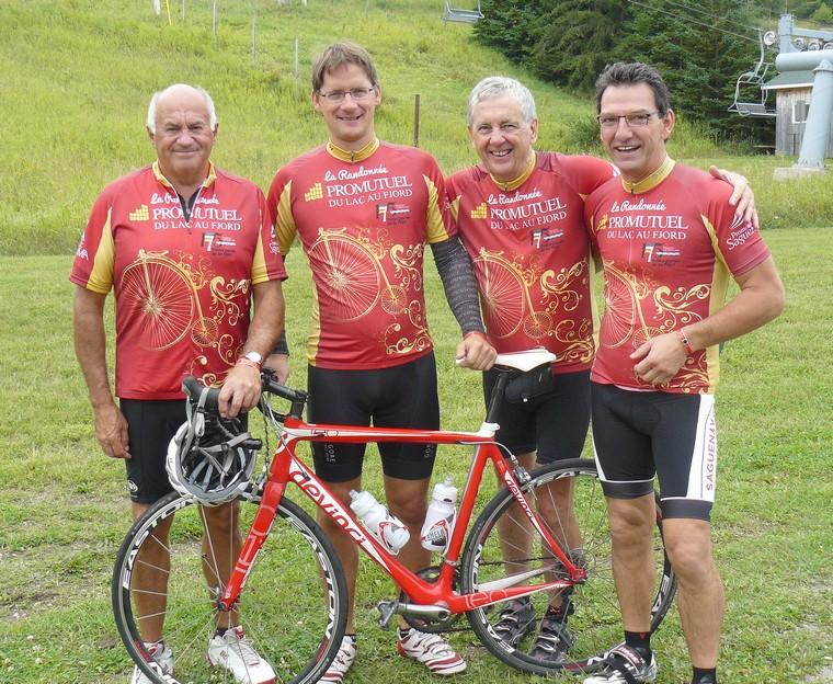 Le maire de Roberval, Michel Larouche, victime d'un accident de vélo
