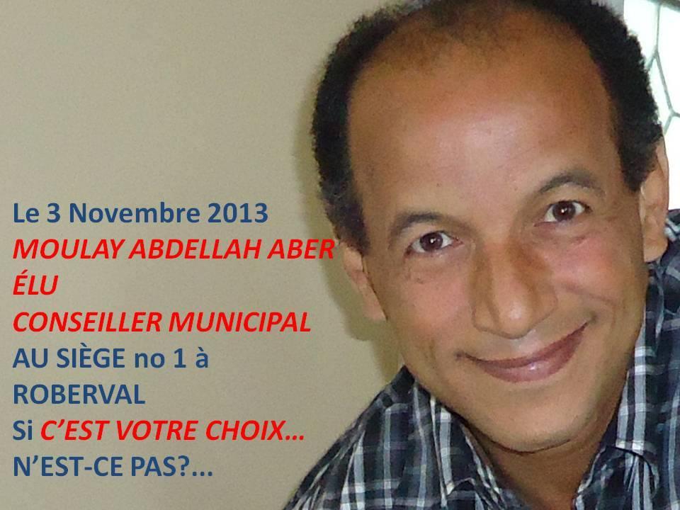 ROBERVAL, CONSEILLER 1 : Moulay-Abdellah Aber