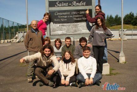 Saint-André accueille dix étudiants Européens