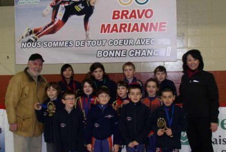 Saint-Félicien est l'hôte d'une compétition de patinage de vitesse