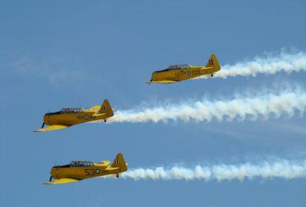 Un spectacle aérien à Roberval pour le 175e