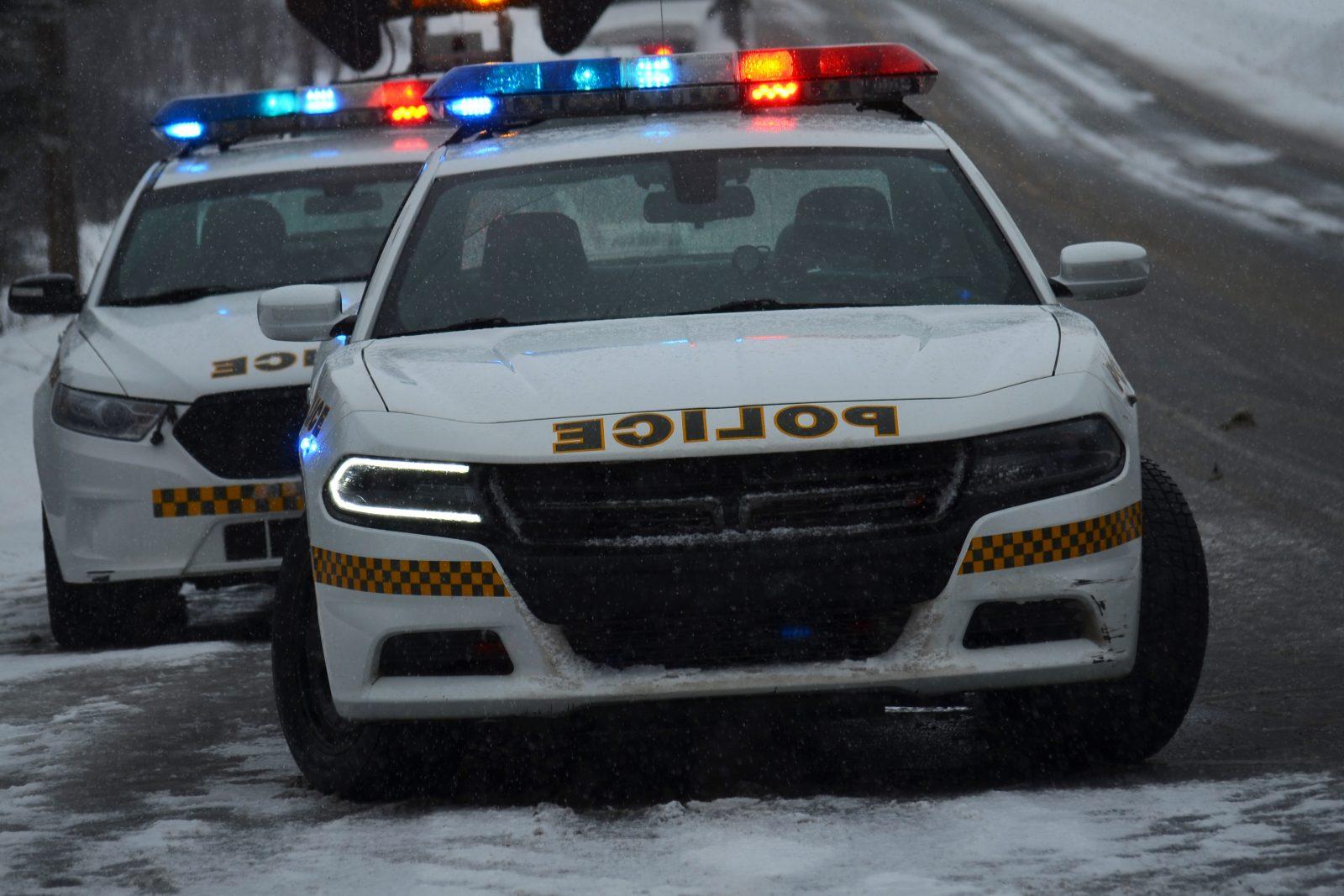 Collision majeure sur la route 155