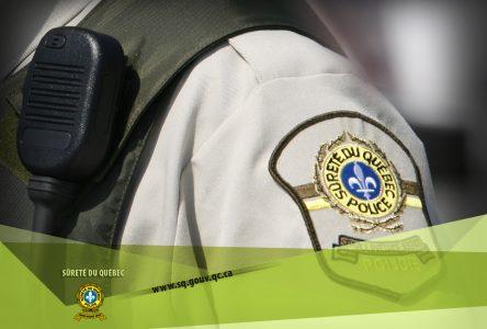 Arrestation d'un trafiquant de drogues à Saint-Félicien