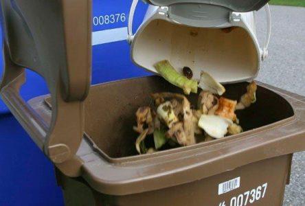 Première collecte du bac brun : près de 40 % des ménages du Lac-Saint-Jean ont participé