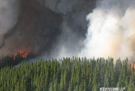 Un groupe de travail pour atténuer les impacts du feu du lac Smokey