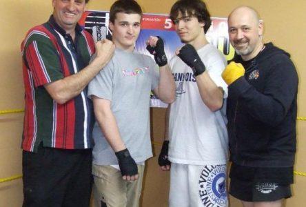 Un premier gala de boxe à Saint-Félicien