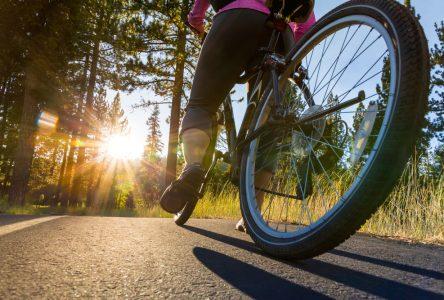 150 000 $ pour la piste cyclable