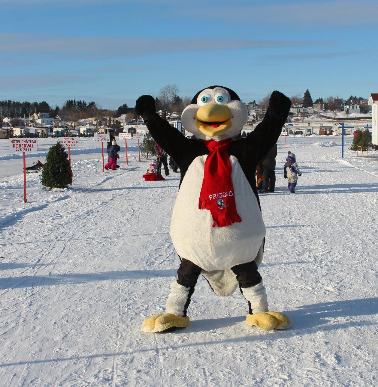 Village sur glace : Une saison débordante d'activités