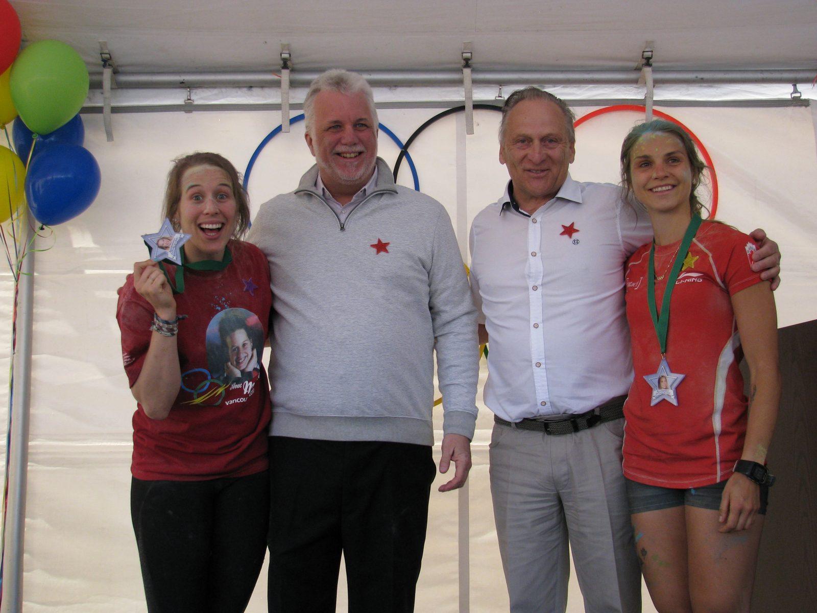 Hommage aux olympiennes : encore des médailles!