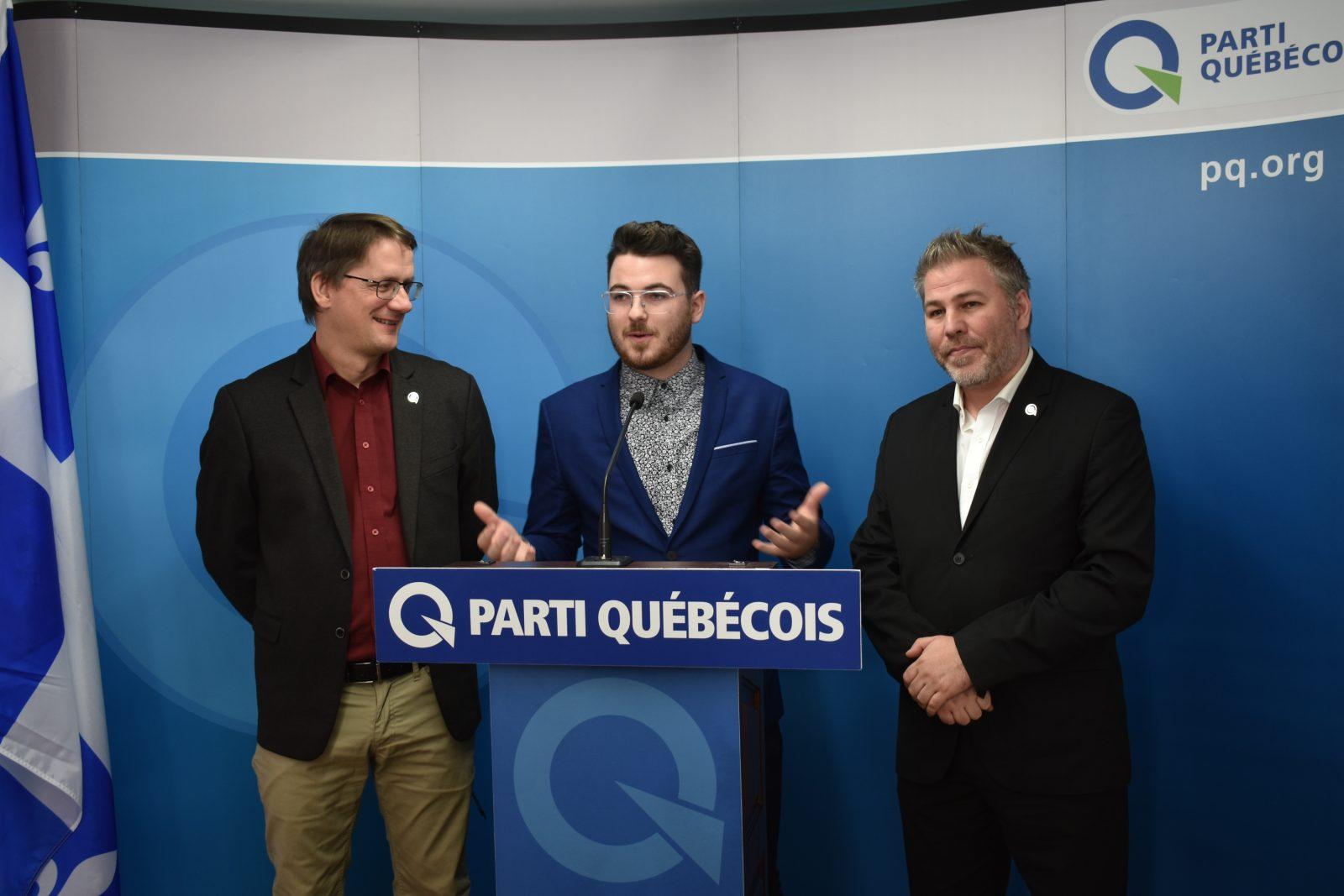 La Parti québécois mise à nouveau sur Thomas Gaudreault