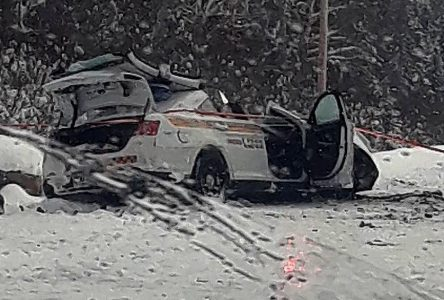 Accident Route 167: heureusement, les deux conducteurs sont hors de danger !