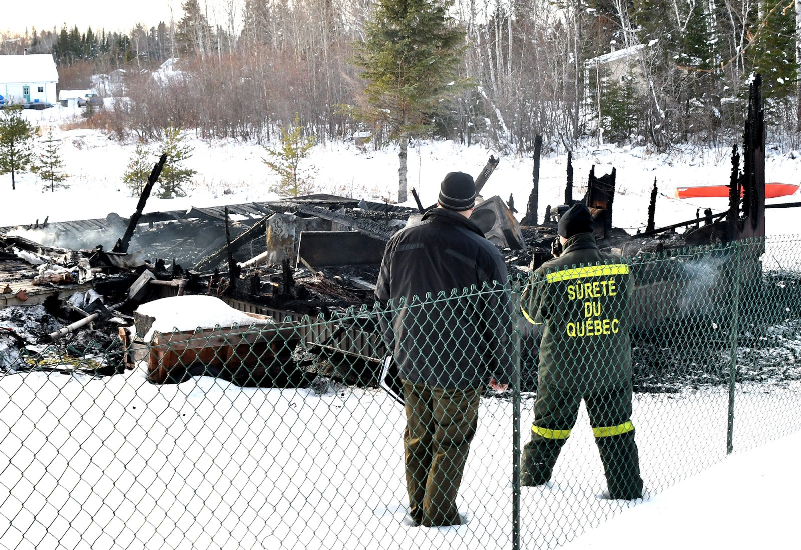 La police enquête sur un homicide à Lac-Bouchette