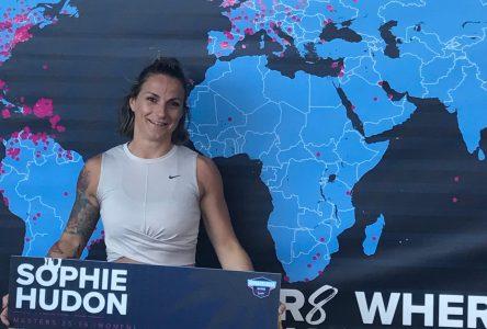 Sophie Hudon a vécu toute une expérience au Wodapalooza Miami Fitness Festival.