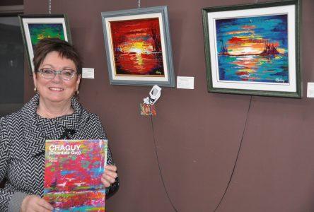 La peintre Chantale Guy expose