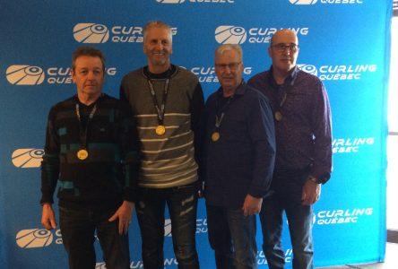 L'équipe de Jacques Taillon défendra les couleurs du Québec en curling