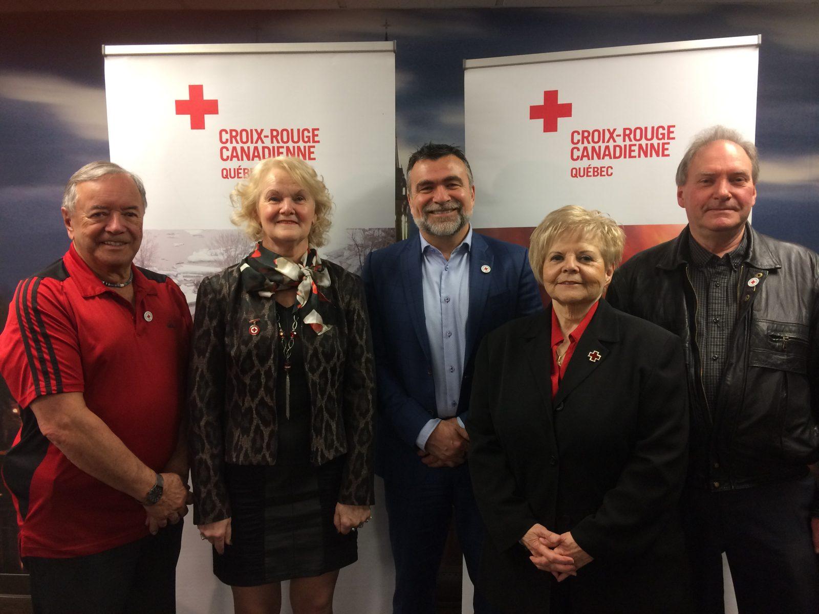Campagne de financement de la Croix-Rouge