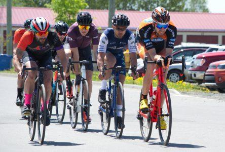 Retour des courses cyclistes dans les rues de Roberval