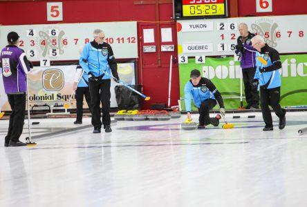 L'équipe de Jacques Taillon termine au huitième rang au Championnat canadien de curling des maîtres