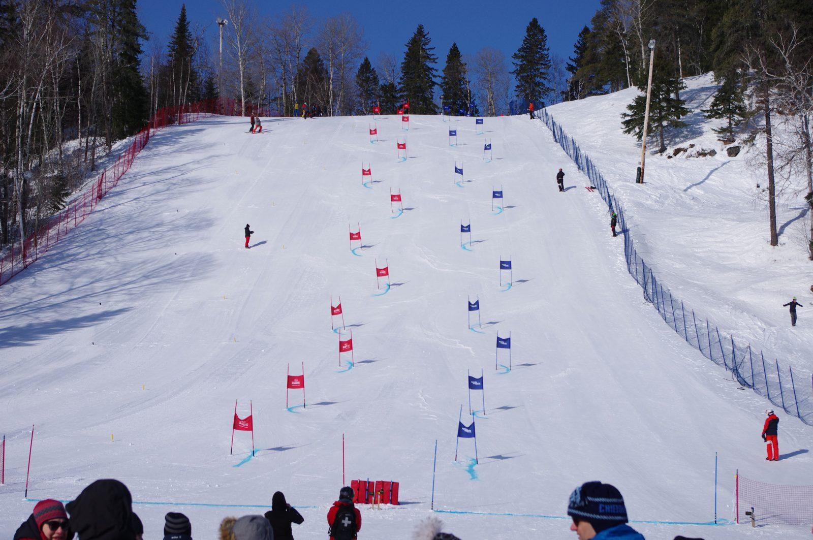 Une saison de ski alpin bien remplie