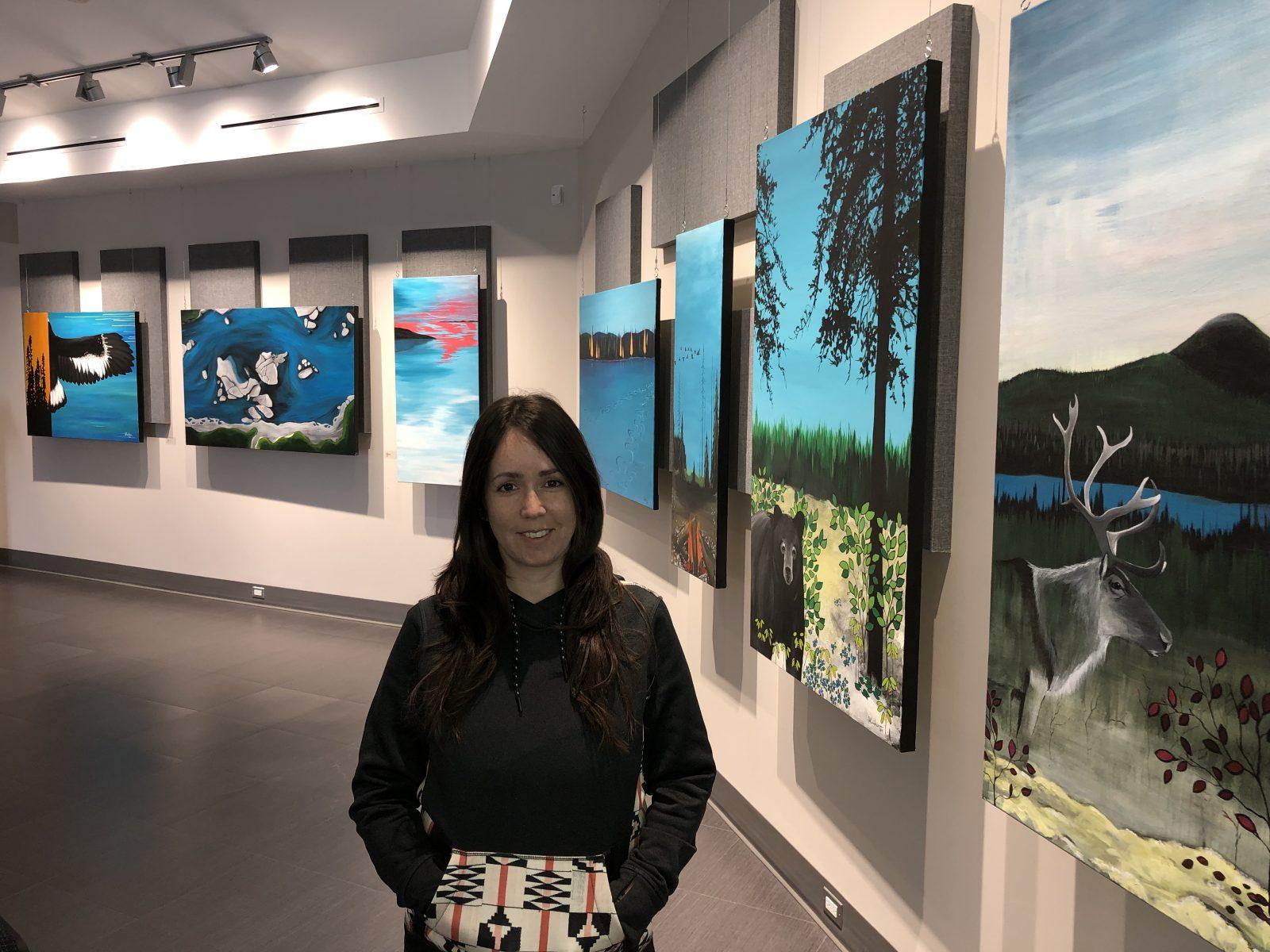 Sophie Kurtness propose des œuvres personnelles et inspirées