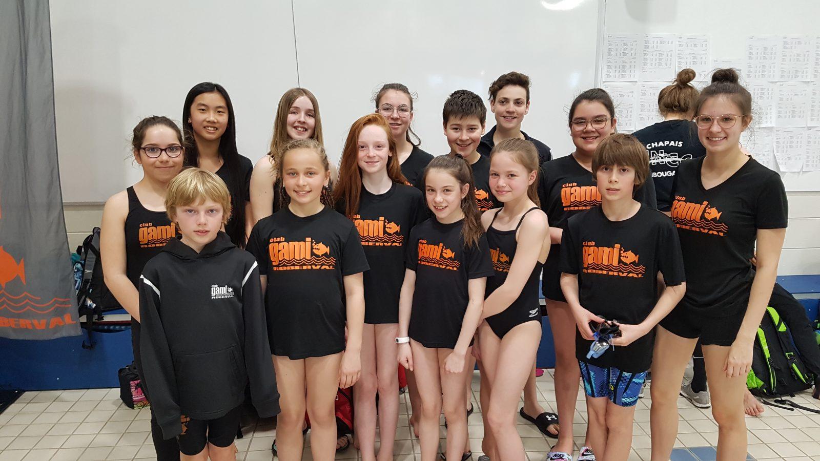 Belles récoltes des clubs de natation