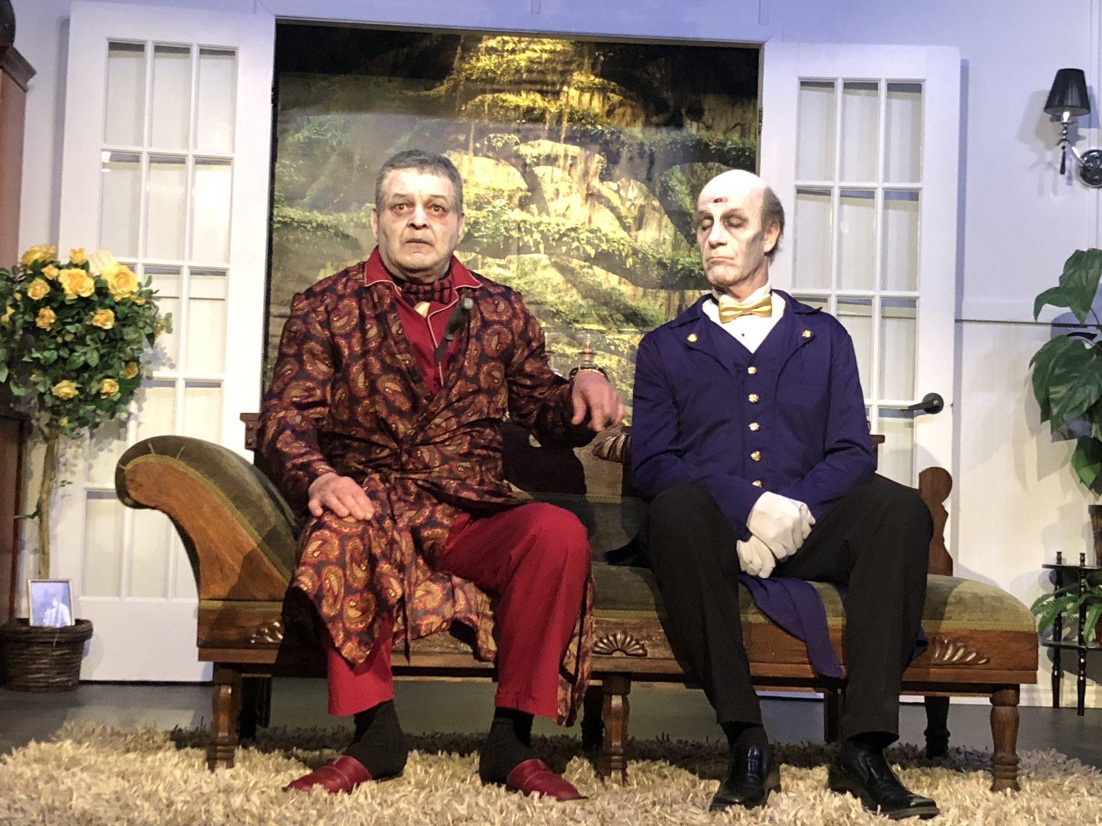 Huit représentations pour la pièce Visa pour L'Éternité